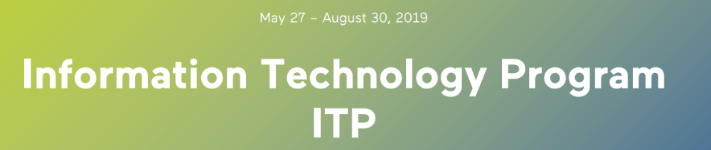 Aalto banner ITP 2019
